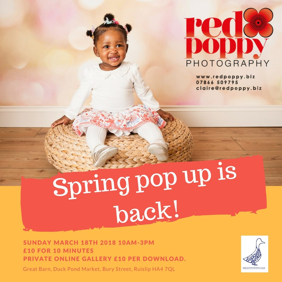 The annual pop up is back!