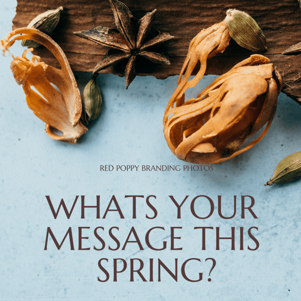 whats your message this spring